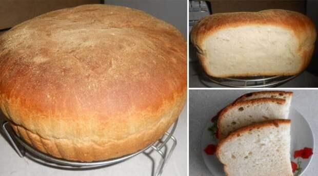 Вкусный хлеб с хрустящей корочкой