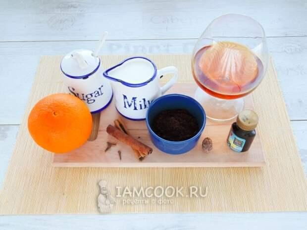 Ингредиенты для ликёра Cola de mono
