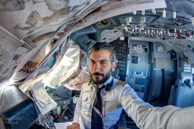 fromcockpit28 25 фотографий, сделанных пилотами из кабин самолетов