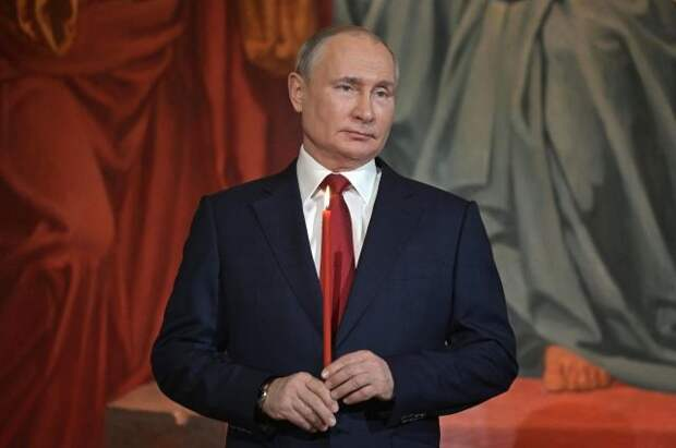 Президент поздравил православных христиан с Пасхой