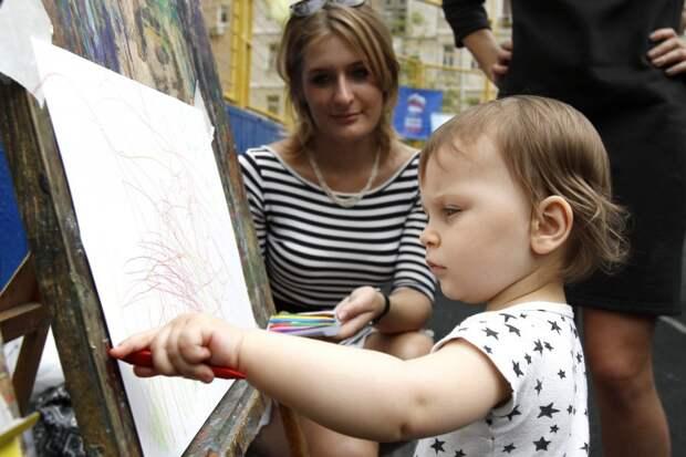 На улице Фабрициуса открылась студия живописи