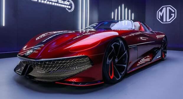 Новый спорткар MG Cyberster EV поступит в серийное производство