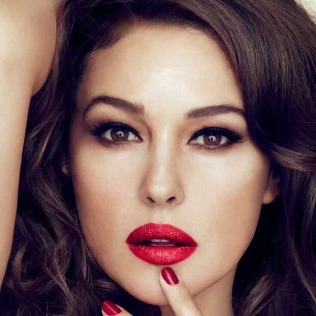 Как быстро отрастить густые и крепкие волосы - секреты красоты Моники Белуччи