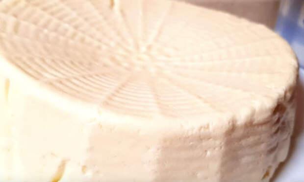 Смешиваем молоко и сметану: сыр за 3 минуты