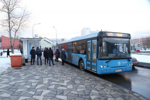 На Волоколамском шоссе появилась новая автобусная остановка
