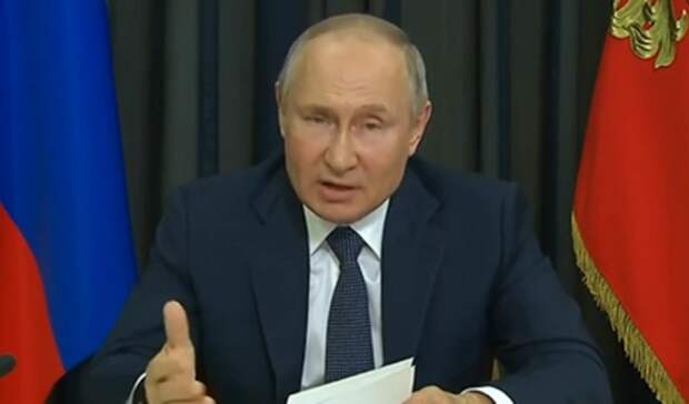 Путин заявил онецелесообразности введения обязательной вакцинации отCOVID-19
