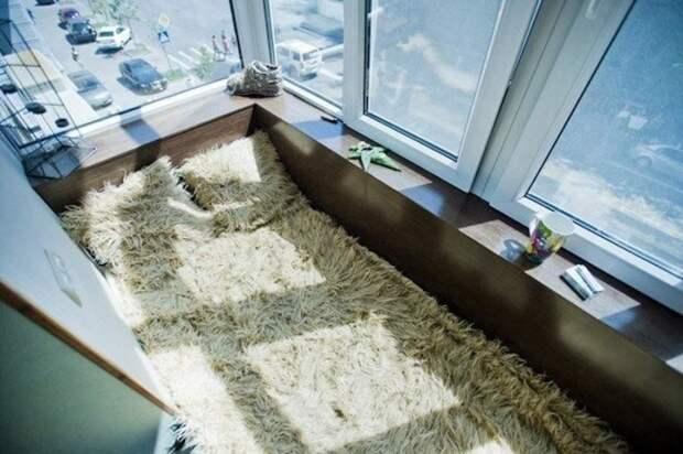 А можно устроить лежбище на балконе балкон, балконы, на балконе, прикол, че за хрень на балконе?, юмор