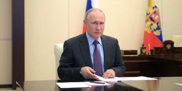 Новые поручения Путина по борьбе с пандемией