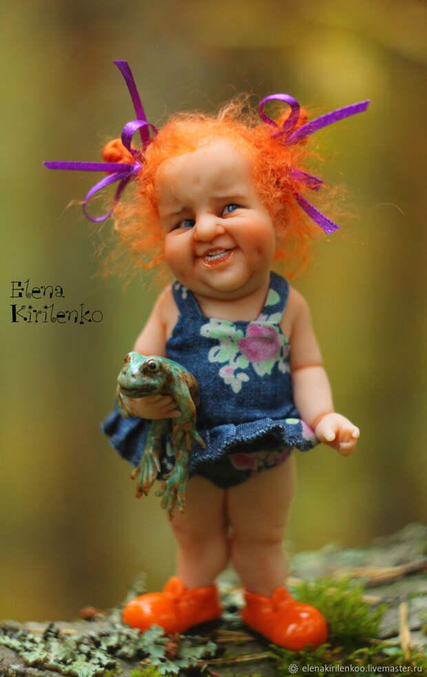 "Куклы: ""Аглая"", Куклы и пупсы, Псков,  Фото №1"