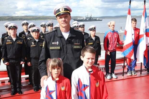 Спортсмены Северного флота, ЦСКА и юнармейцы записали видеоприветствие российским олимпийцам