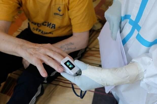 За сутки в Крыму 101 новый случай коронавируса