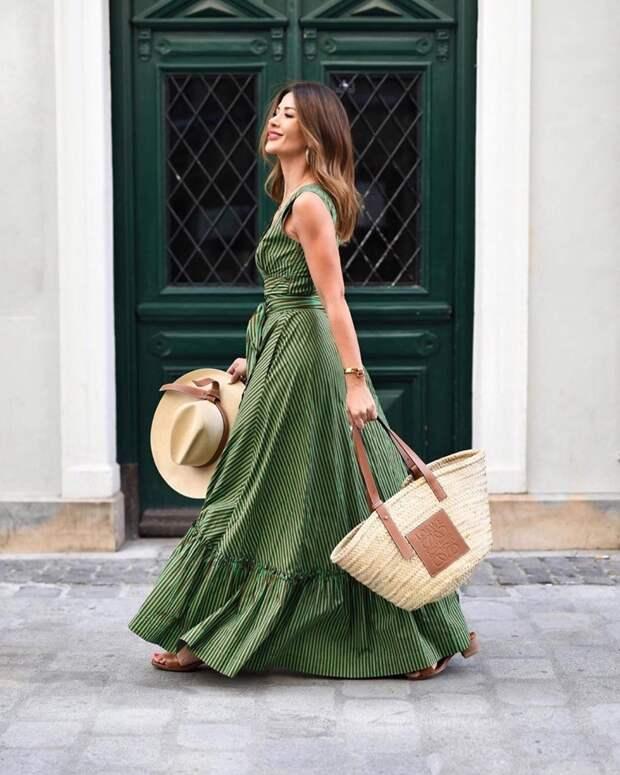 С чем носить длинный сарафан: 20 идей для создания романтического настроения
