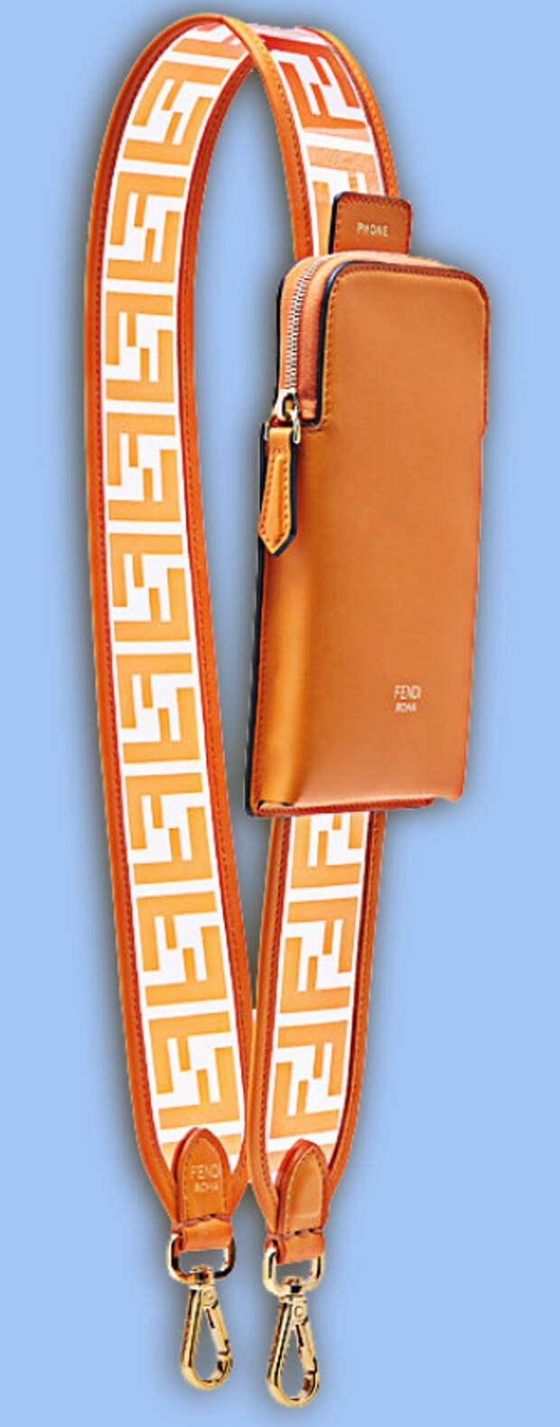 Плечевой ремень для сумки с телефономестом