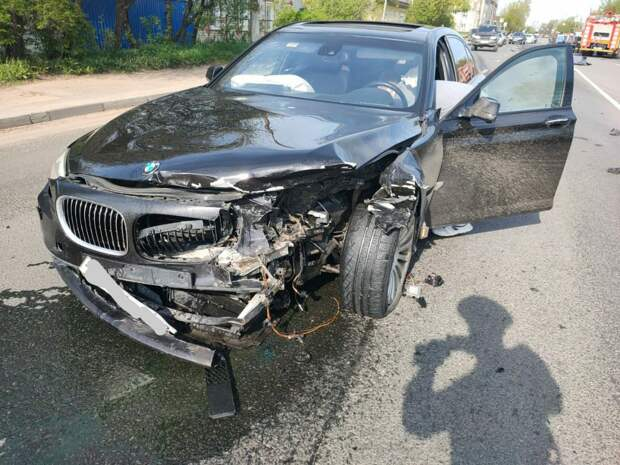 Четыре автомобиля столкнулись в Твери