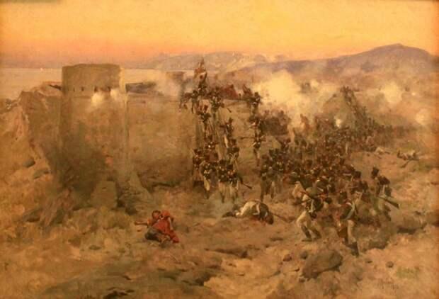 «Русскому штыку ничто противиться не может». Как 2 тыс. «чудо-богатырей» Котляревского сокрушили 30-тыс. персидскую армию и взяли штурмом Ленкорань