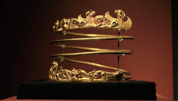 Музей Нидерландов не передаст никому золото скифов до решения суда
