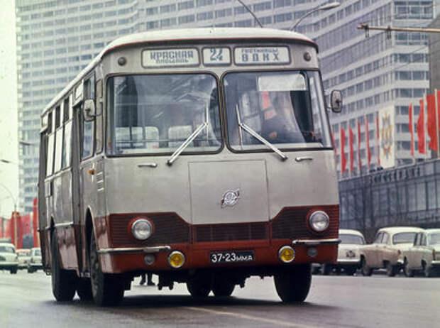 Автобусы из СССР – серийные и экспериментальные