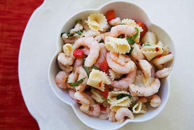 Салаты с макаронами и грецкими орехами — итальянская кухня на вашем столе!