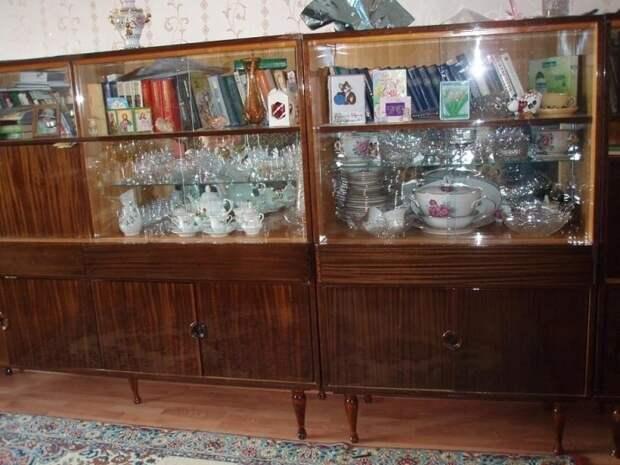 В советские времена в серванте хранили самые ценные вещи. / Фото: zen.yandex.com