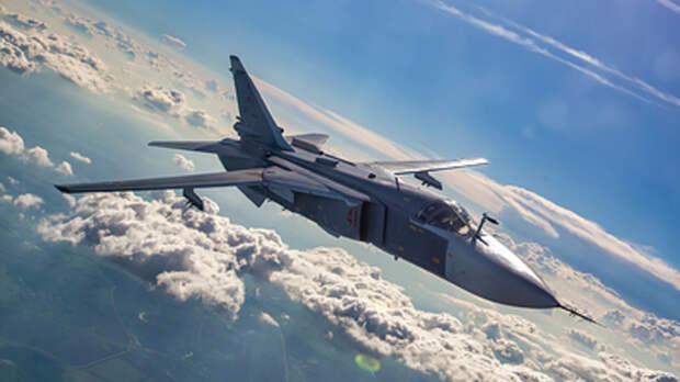Британский эсминец поплатился за глухоту: Су-24М объяснил доходчиво. Бомбой