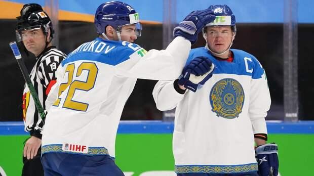 Сборная Казахстана разгромила Италию на ЧМ, забросив 11 шайб