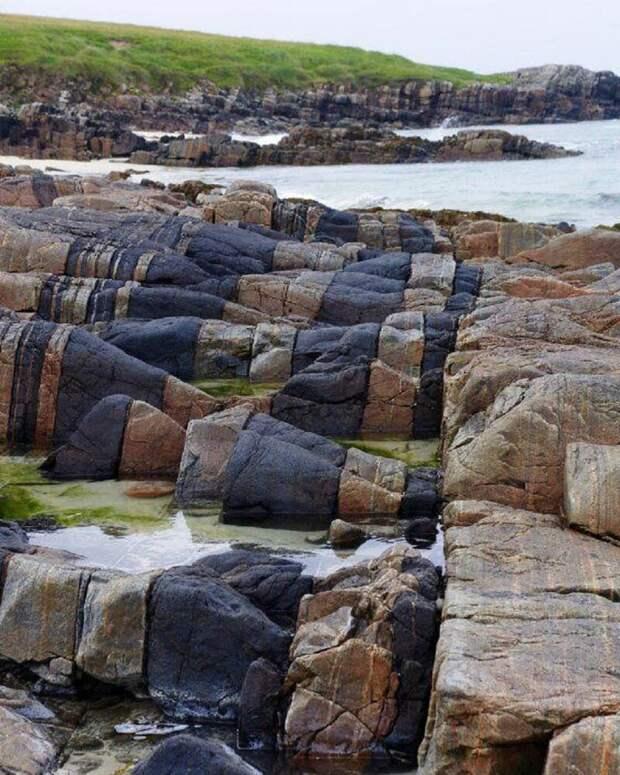 Норт-У́ист — остров в архипелаге Внешние Гебриды, Шотландия. завораживающе, земля, интересное, красота, пейзажи, природа, фотомир