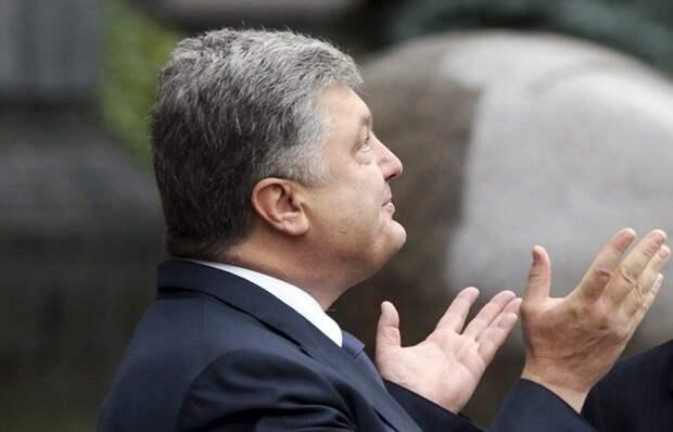 На радость Порошенко и при Зеленском собрался «майдан»