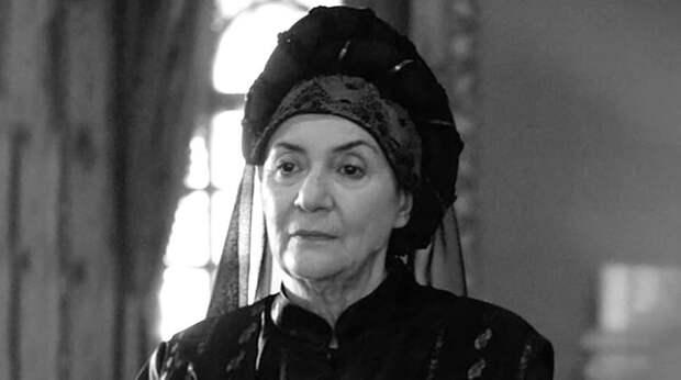 Умерла звезда «Великолепного века» Сабина Тозия