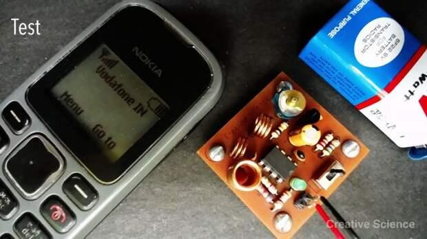 Глушитель сигнала сотового телефона своими руками