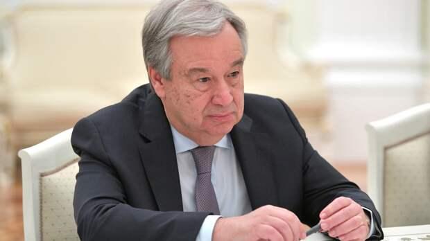 Генсек ООН рассчитывает на укрепление сотрудничества с РФ по поддержанию мира