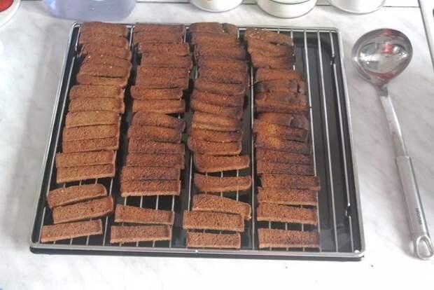 Домашний квас из бородинского хлеба