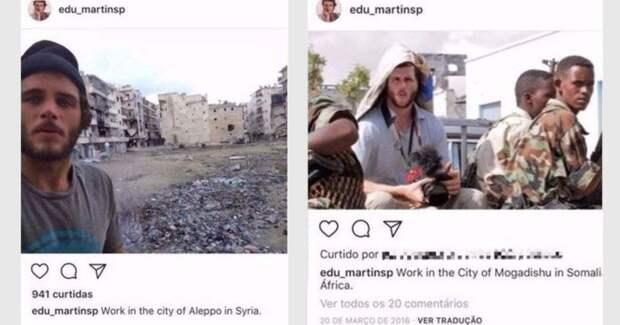 «Последний гвоздь в гроб военной фотожурналистики»: как бразильский журналист одурачил весь мир