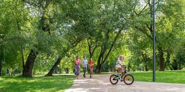 Более 8 тысяч объектов благоустройства уже передали будущему самому протяженному в Европе «Парку Яуза»