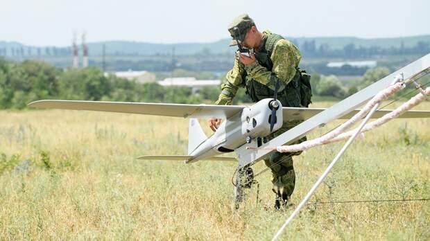 В Ленобласти БПЛА «Орлан-10» следят за обстановкой в пожароопасных районах