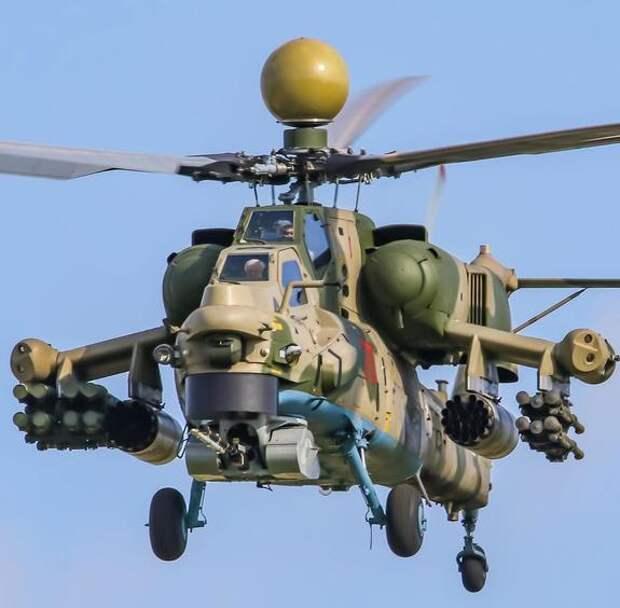 Новейший российский боевой вертолет Ми-28НМ «Ночной охотник» сможет нести сразу четыре ракеты