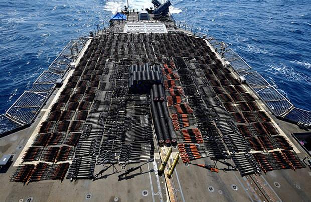 ВМС США изъяли оружие производства РФ и КНР с корабля в Аравийском море