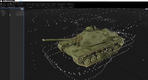 """""""Мы стараемся передать характер танков времен Второй мировой войны с помощью фотограмметрии"""""""