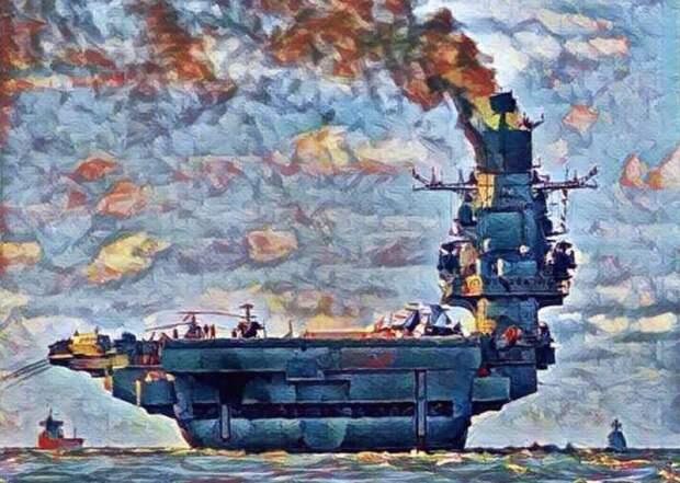 """О чём ты дымишь, """"Адмирал Кузнецов""""?"""
