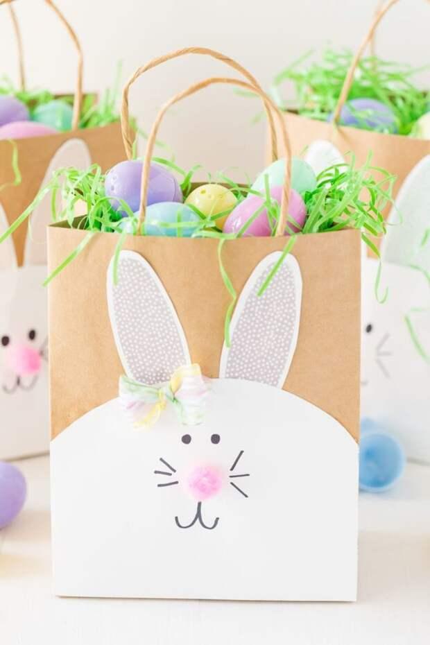 пакеты с яйцами