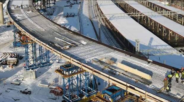 Работы по созданию хордовых магистралей завершатся в 2023 году