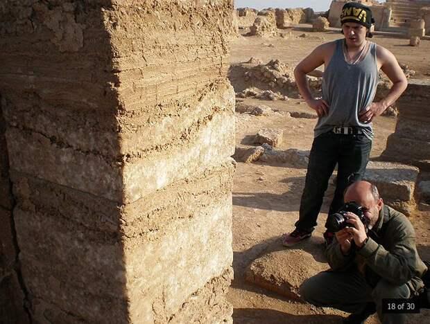 Дура-Эвропос: руины нетривиальных конструкций в Сирии