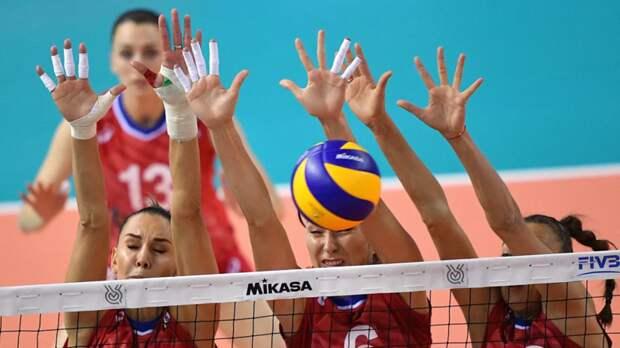 Женская сборная России по волейболу обыграла команду Испании на ЧЕ