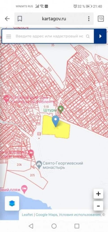 Севастопольский изолятор МВД построят у тематического парка на Фиоленте