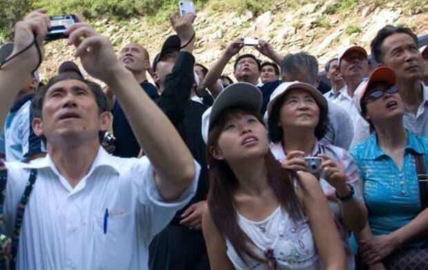 китайские туристы прехали в Крым