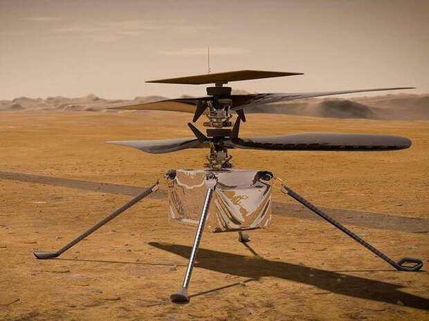Первый полет вертолета на Марсе запланирован на понедельник