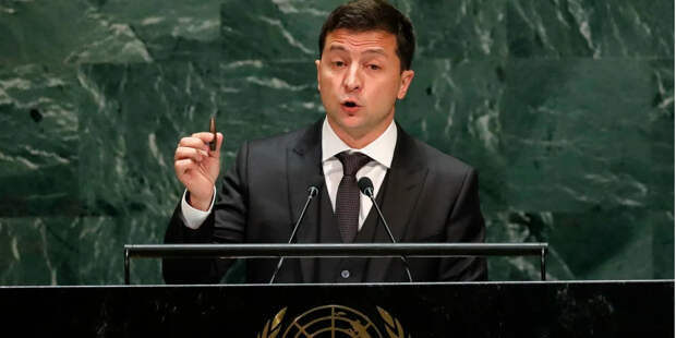 """Выступление Зеленского в ООН """"о российской агрессии на Донбассе"""" даже не стали переводить с украинского"""