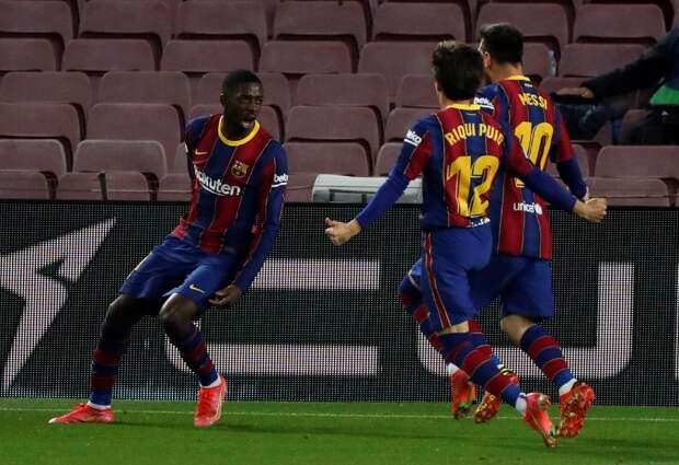 Стала известна заявка «Барселоны» на матч с «Баварией»