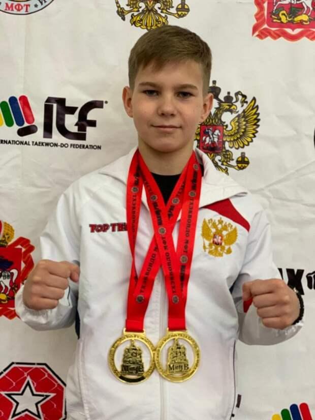 Кикбоксер из Южного Тушина одержал очередную победу на турнире