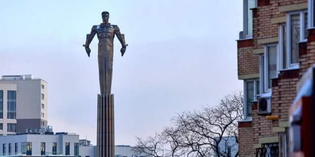 Сергунина: В следующем году в Москве начнется реставрация памятника Юрию Гагарину Фото: М. Денисов mos.ru