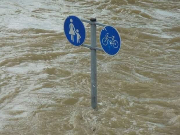 Уровень воды в реке в Иркутской области достиг критической отметки